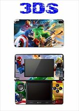 VINYL SKIN STICKER FOR NINTENDO 3DS REF 192 LEGO MARVEL