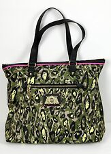 NWT Juicy Couture Penny Nylon Camo Tote Satchel Gym Sport Shoulder Bag Shopper -