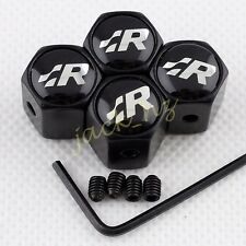 Antitheft Wheel Tire Valve Stem Air Cap For VW  Scirocco R36 GOLF RACING Styling