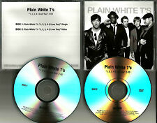 PLAIN WHITE T'S 1234 I love You w/ VIDEO PROMO DJ CD & DVD Single MINT ts