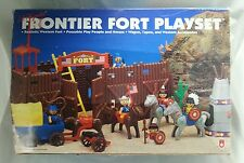 Lil Playmates Frontier Fort Set Cowboys & Indians 1993