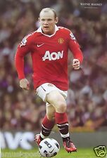 "WAYNE ROONEY ""CONTROLLING THE BALL"" POSTER -Manchester United FC Soccer/Football"