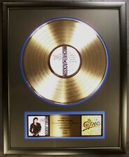 Michael Jackson Bad LP Gold RIAA Record Award Epic Records To Michael Jackson