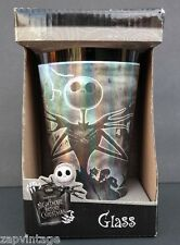 New Nightmare Before Christmas Jack Skellington Pint Glass HOLOGRAM Cup