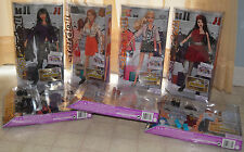 Barbie Stardoll collection: 4 dolls, 3 outfit boxes, multiple combinations, FUN!