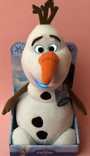"""Disney Frozen Ani  Mei 10"""" Light Up and Talking Olaf  Plush Soft Toy New in Box"""