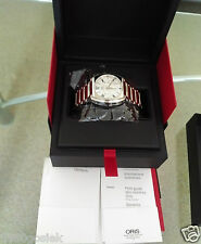 Genuine Rare Brand New with Tags ORIS Frank Sinatra Chronograph Watch TP €2468