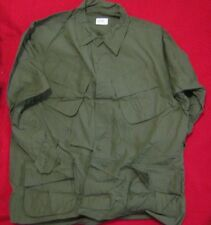 NOS JUNGLE JACKET COAT MANS COTTON OG 107 1969 EXTRA LARGE REG