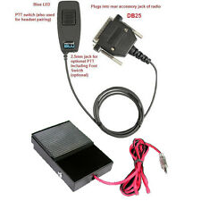 Pryme BT-M31-KIT2 Bluetooth Adapter with Wired PTT Footswitch for Kenwood Mobile