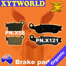 FRONT REAR Brake Pads for Yamaha YZ 250 F 2007-2013