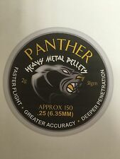 AirForceOnetm PANTHER 'Heavy Metal ' air rifle, pistol ammo pellets.25 (300)