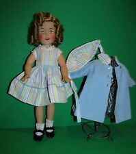 Darling 3 Piece Easter DRESS & Reversible COAT & BONNET 4 Shirley Temple!