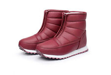 Bigger Sizes Womens Winter Snow Warm Waterproof Boots Shoes Ankle Boots