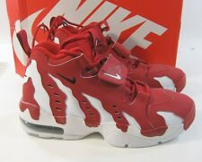 Mens Nike AIR DT MAX '96 Deion Sanders  White Red 316408-600 size 8.5