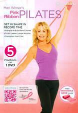 Mari Winsor's Pink Ribbon Pilates, Very Good DVD, Mari Winsor, Gaiam