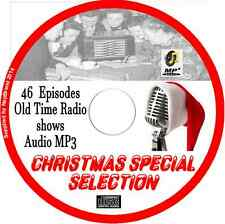 Christmas Special Selection 46 OTR Old Time Radio Shows - Audio MP3 CD