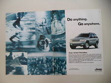 advertising Pubblicità 2001 JEEP GRAND CHEROKEE