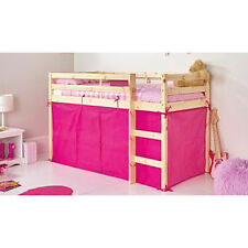 Bright Pink Tent For Shorty Mid Sleeper Bed Pink Girls Bedroom Toys Storage Tidy
