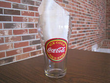 ICE COLD COCA COLA SOLD HERE DRINKING GLASS