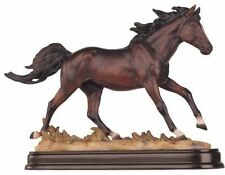 9.5 Inch Brown Horse Animal Figurine Statue Collectible Figure Wild Nature