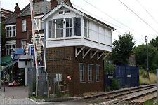 Highams Park signal Box 2007 Rail Photo