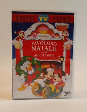 Favoloso Natale con gli amici Disney! Dvd Walt TV Sorrisi e Canzoni CARTOON
