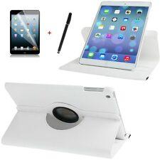 Hülle für Apple iPad Air 5 360° Schutzhülle Case  Tasche  Leder-Imitat weiß weis