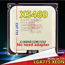 Intel Xeon X5460 Quad-Core Processor Socket LGA 775 3.16 GHz 12M 1333MHz cpu