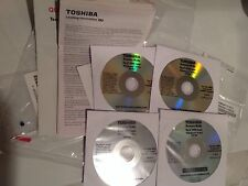 Toshiba Tecra R940 Drivers Recovery Restore windows 8 pro set of 4 CDs new