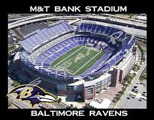 MD - M&T BANK STADIUM - Baltimore Ravens  - souvenir flexible fridge magnet