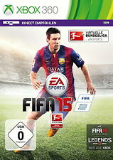 FIFA 15 Microsoft Xbox 360, 2014, DVD-Box Virtuelle Bundesliga Ultimate Team OVP