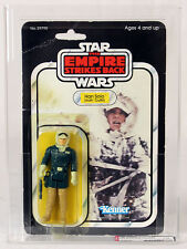 Vintage Star Wars Carded ESB 32 Back-A Han Solo (Hoth - Outfit) Action Figure AF