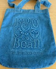 KIMO Beans Hawaii Tote Bag Vintage Cotton A Of M Rare