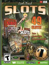 Reel Deal Slots 3 Pack PC Games Windows 10 8 7 Vista XP Computer casino machine