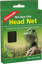 MOSQUITO BEE FLY INSECT HEAD NET ULTRA FINE 1150 MESH! STOP NO-SEE-UM'S