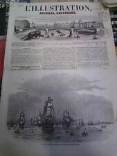 L'illustration n°579 1 avr 1854 mission durrieu ouargla algérie baie de wingo