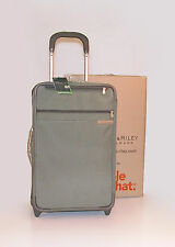 "Briggs & Riley Baseline SuperLight 22"" Carry-On Upright w/ Suiter ~ U422S-7 NWT"