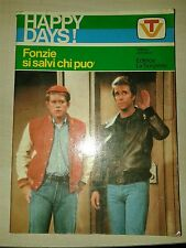 HAPPY DAYS! Fonzie si salvi chi può 1978 EDITRICE LA SORGENTE Johnston