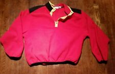RARE Marlboro Pull Over 1/4 Zip Fleece Large Vintage