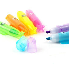 6 Color Stationery Mini Cute Boat Highlighter Pen Marker Pens Set for Kids Gift