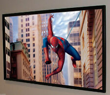 """140"""" 1080P High Contrast Gray Grey BARE Projector Projection Screen Material USA"""