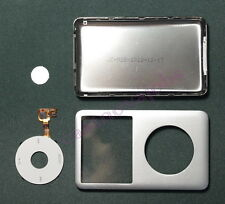Silver iPod classic 7th 160GB back cover + front case+clickwheel slim kit