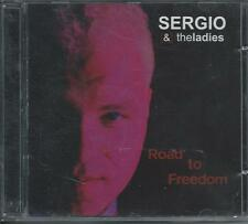 SERGIO & THE LADIES - Road to freedom CD Album 11TR Eurovision 2002 BELGIUM