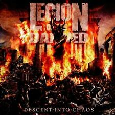 Legion of the Damned-Descent into caos DIGIBOOK-CD + DVD-Merce Nuova