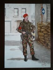 POSTCARD CORPS OF MILITARY POLICE - CORPORAL NORTHERN IRELAND 1980