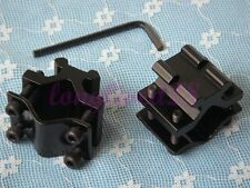 Pair of Adjustable Barrel Tube Mount with 20mm Picatinny/weaver Rail #BO