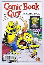 Comic Book Guy #1 Simpsons Bongo Comics 2010 Very Fine Near Mint