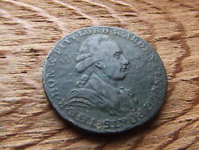 KENT.   DOVER.  1794, HALFPENNY TOKEN.    WILLIAM PITT.  NICE CONDITION.