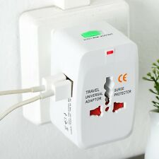 All in One USB Universal World Travel Power Charger AC Adaptor Plug Great New.