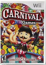CARNIVAL GAMES - Nintendo Wii Game (2007) - Over 250 Prizes - Disc Mint